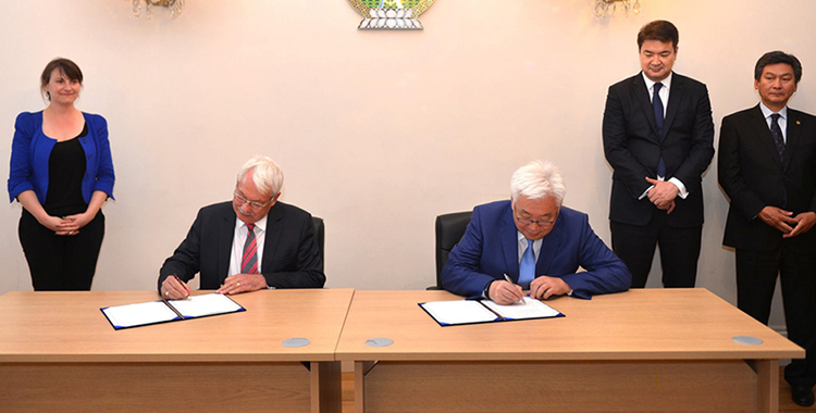 Collaboration agreement to deliver inclusive resilient growth signing with the City of Ulaanbaatar