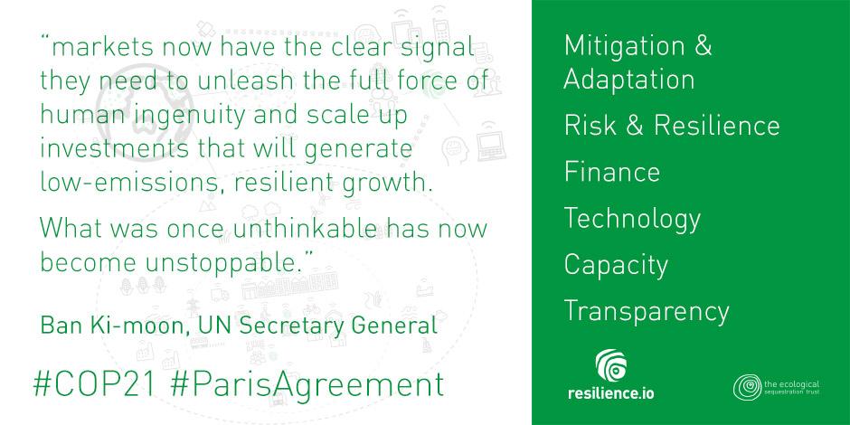Implementing Paris, Sendai, SDG 2015 commitments - COP21